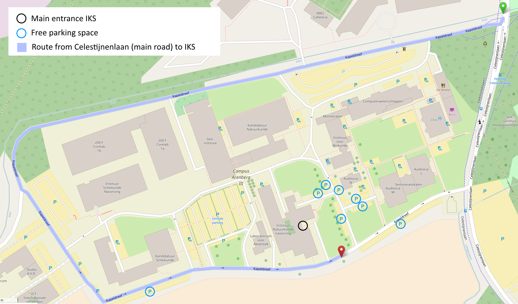 ku leuven campus map Contact Institute For Nuclear And Radiation Physics ku leuven campus map