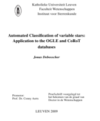 kuleuven thesis voorblad
